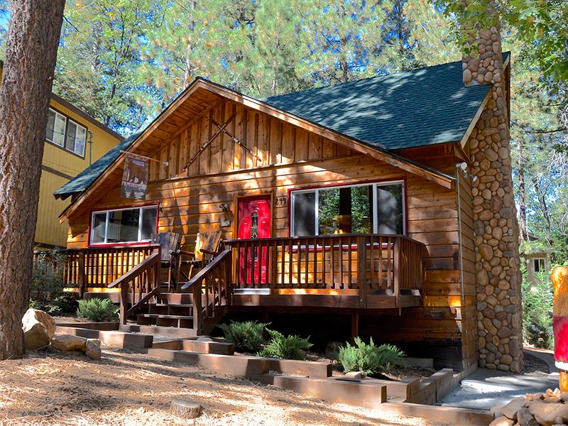 Big Bear Luxury Cabin Rentals Big Bear Lodging Forest