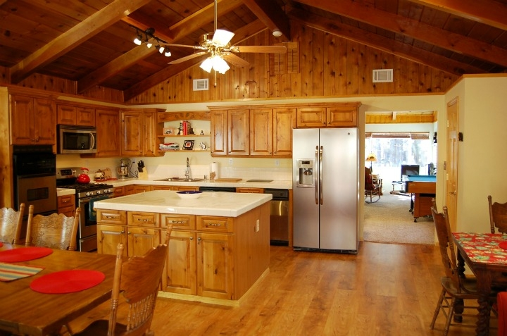 Dream kitchen for your mountain cooking